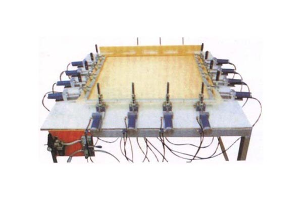 Pneumatic Screen Stretching Unit (Excluding table)